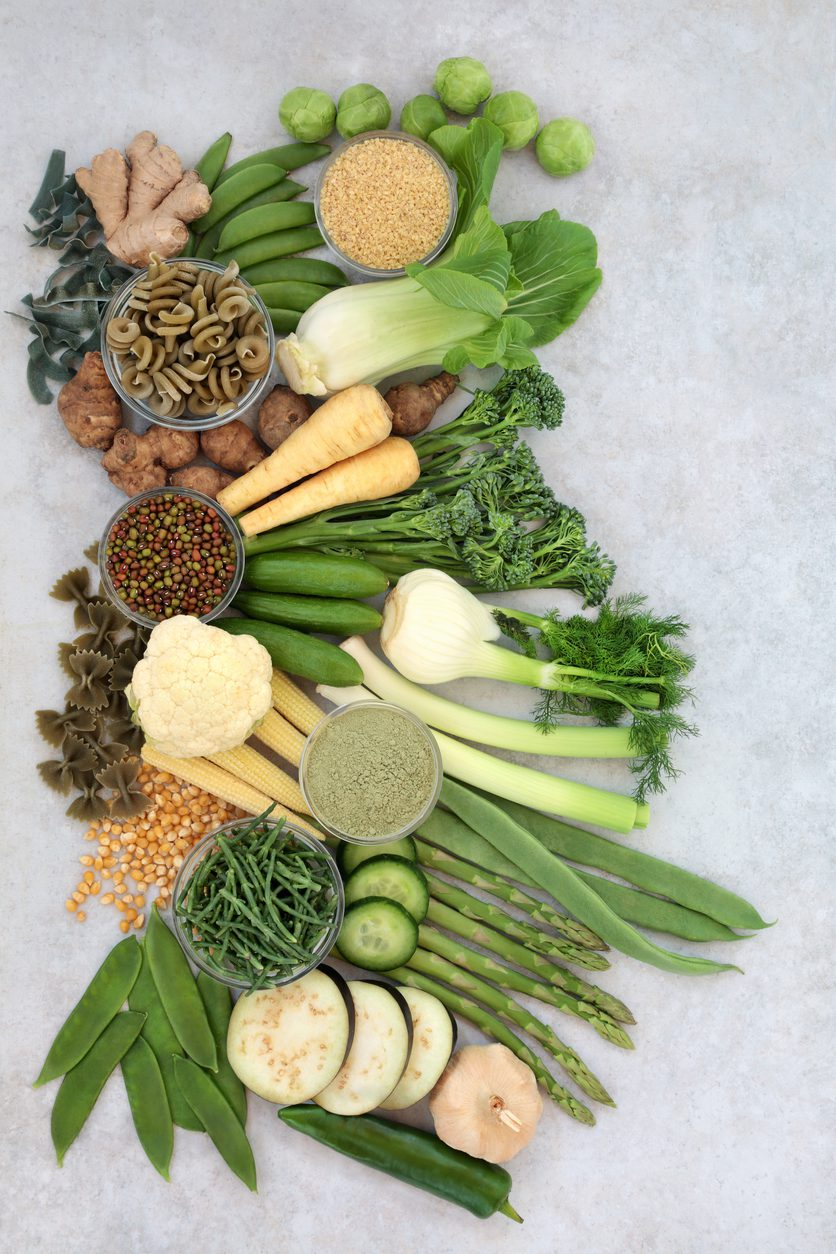 Vegan Health Foods with High Nutritional Values